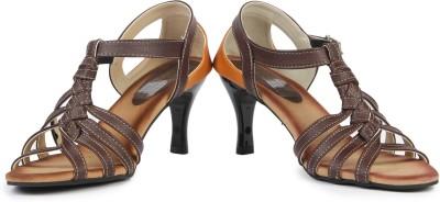 Anupamaa Tan Cross Girls Multicolor Sports Sandals