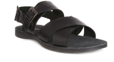 Vito Rossi Men Black Sandals