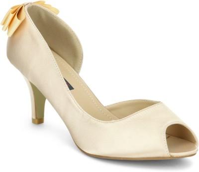 American Swan Women Beige Heels