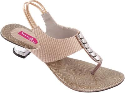 Vinayak Collection Women Beige Heels