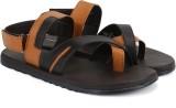 Provogue Men Brown Sports Sandals