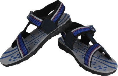 Vivaan Footwear Blue-828 Men Blue Sandals