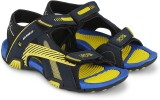 Cozy Men Classy Blue::Fab Yellow Sandals