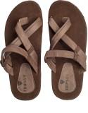 Tripssy Men Brown & Beige Sandals