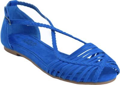 Urban Monkey Women Blue Flats