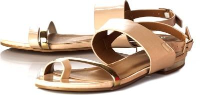 Vero Couture Women Brown Flats