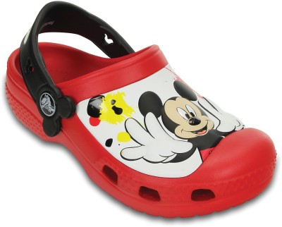 Crocs Baby Boys, Baby Girls Red Sandals
