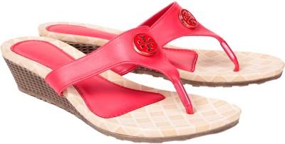 Engross Women Red Wedges
