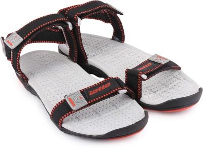 Lotto Men Black Sandals