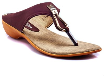 Dolphin Miles Women Brown Flats