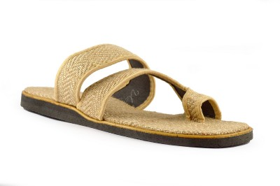 LIPAX Men Beige Sandals