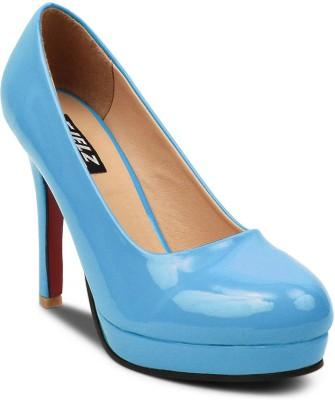 Kielz Women Blue Heels