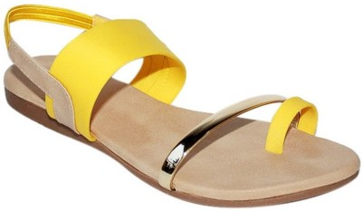 Promenade Women Yellow Flats
