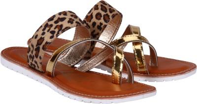 Fashion Mafia Women Gold Flats