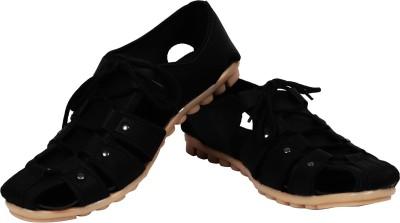 Demkas Boys Black Sandals