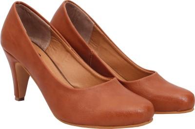 Welson Women Tan Heels