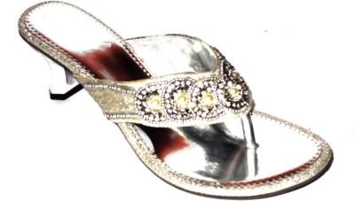 Angeela Women Silver Heels