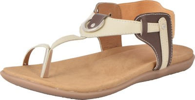 Royal Collection Women Brown, Beige Flats