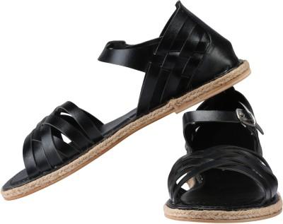 Claude Lorrain Women Black Flats
