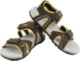 Cyke Men OLIVE::YELLOW Sandals