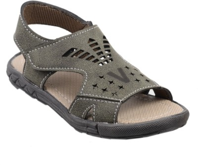 SNAPPY Boys Olive Sandals