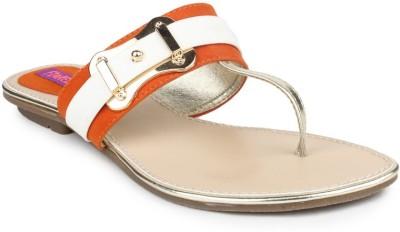 Fiorella Women Orange Flats