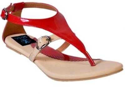Jolly Jolla Women Red Flats