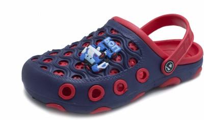 PHEDARUS Boys Blue, Red Sandals