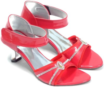 CreativeSelections Women Red Heels