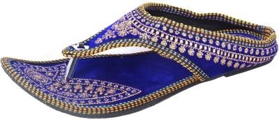 DFR Women Blue Flats