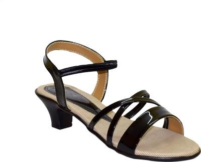 Stepee Women Black Heels
