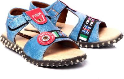 Trilokani Boys Blue Sandals