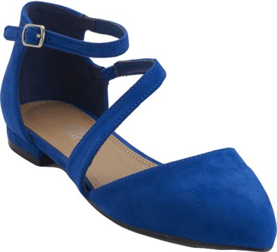 Urban Monkey Women Blue Flats