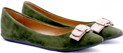 Touristor Victoria Women Green Flats