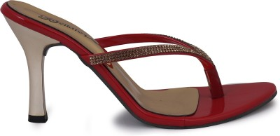 Bellafoz Women Maroon Heels