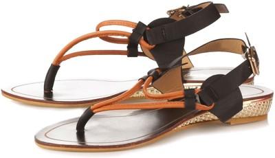 Vero Couture Women Orange Flats