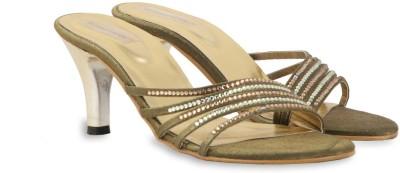 Touristor Women Olive Heels