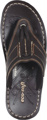 Ecosoft Men Brown Sandals