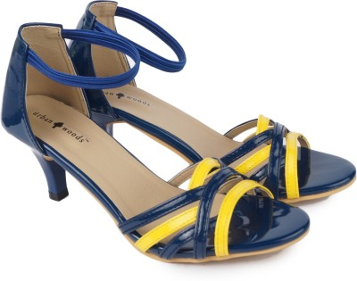 Urban Woods Blue Women Blue Heels