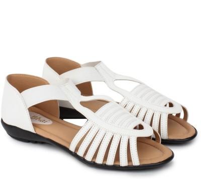 Do Bhai Km-507 Women White Flats