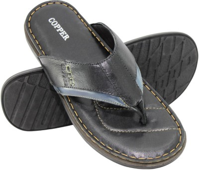 Copper Stroke-9002 Men Black Sandals