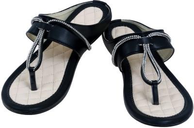 2Dost Women Black Flats