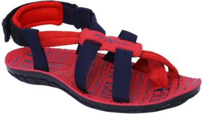 Xpert Men Red, Blue Sandals
