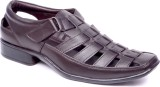 ElPaso Men Brown Sandals