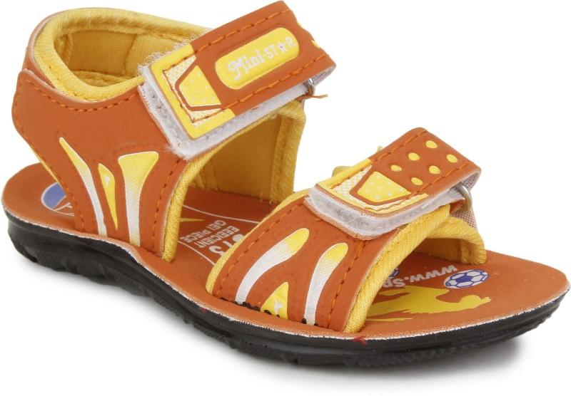 Pu-Mini ST*R Boys, Baby Boys Orange Sandals