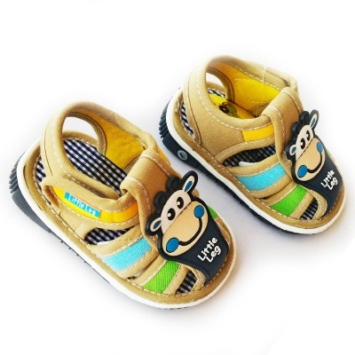 Stuff Jam Baby Boys Beige Sandals