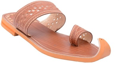 Samadhaan Men Brown Sandals