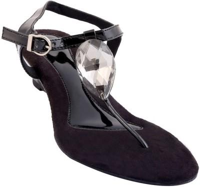 GLAMWALK Women Black Heels