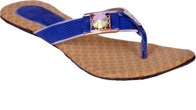 skyler Women Blue Flats