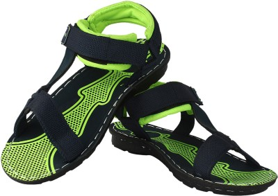 Super Matteress Men Green, Black Sandals
